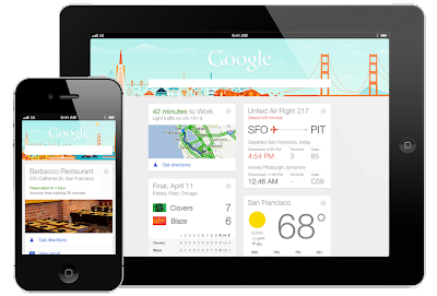 Google Now on iPhone and iPad