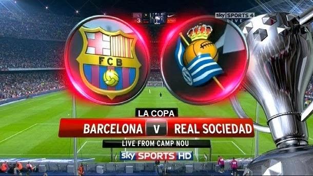 Barça-Real Sociedad, miércoles a las 22 horas (Antena 3)