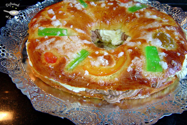 TORTEL DE REYES (receta de panadería)
