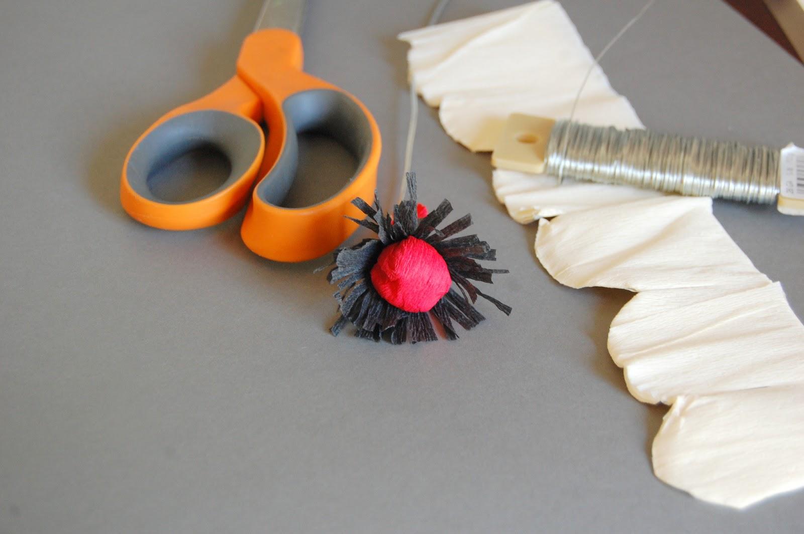 Tutorial Whimsical Paper Flowers Poppy How To Make Diy Handmade