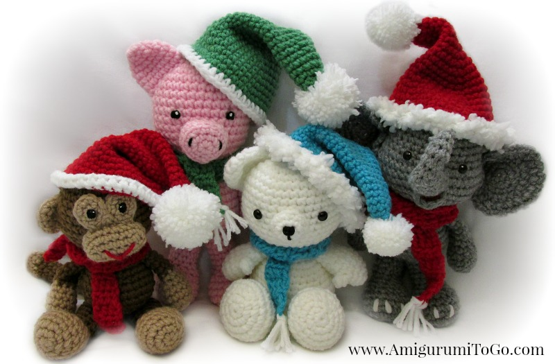 Amigurumi I To Go : Amigurumi Christmas Hat and Scarf Video Tutorial Now on ...