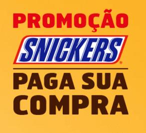 Cadastrar na promoção Snickres 2015 Paga sua compra