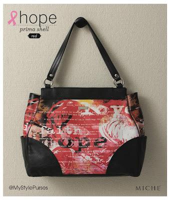 Miche Bag Red Hope Prima Shell