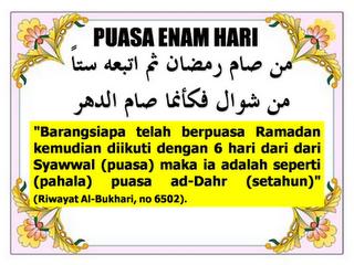Puasa Sunat Enam Syawal