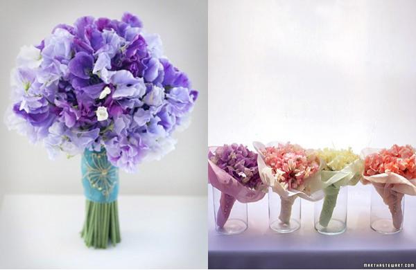 sweet pea flowers weddings