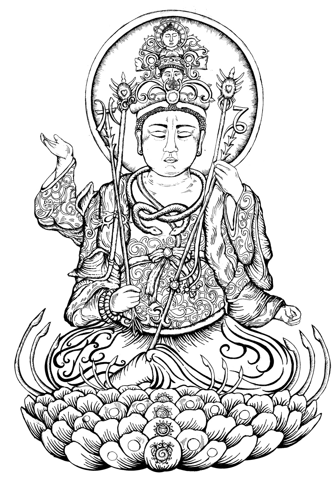 buddha coloring pages buddha quotes on separation quotesgram