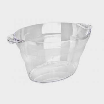 Frapiera Transparenta Mare din Plastic SAN, Modele de Frapiere Ovale pentru Bar, Produse Profesionale Horeca pentru Bar, Preturi Reduse