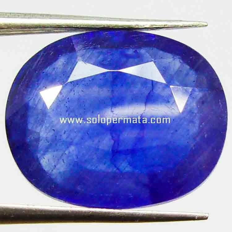 Batu Permata Blue Sapphire - 15B03