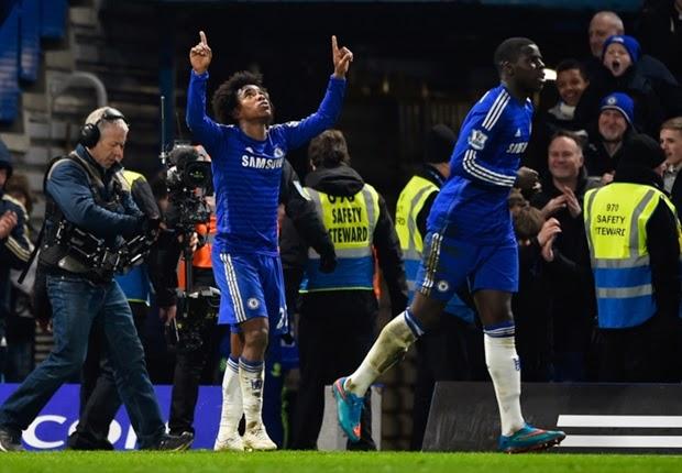 Liga Inggris : Chelsea Menang Tipis Atas Everton 1-0