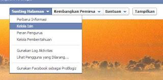 halaman fans facebook