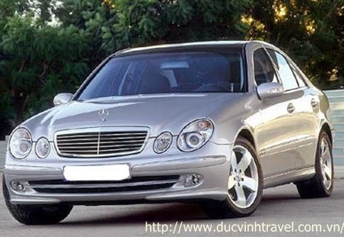 Cho thuê xe cưới Mercedes E240 hạng sang