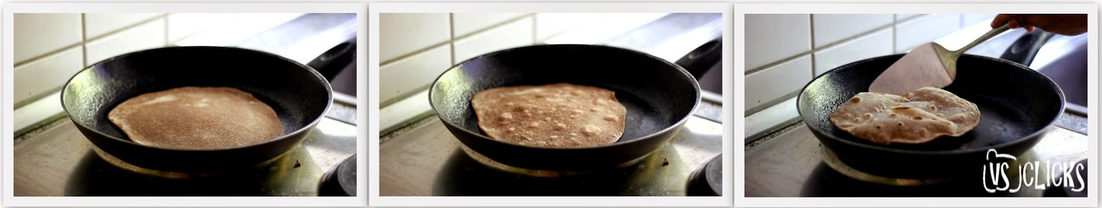 Ragi Chapathi Indian Ragi Flatbread Instructions