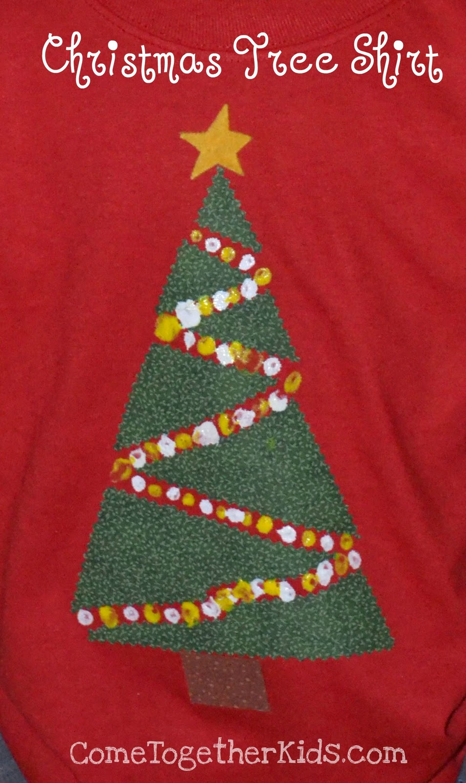 Easy Christmas Tree Shirts