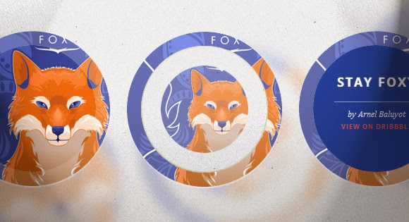 Circle hover effects wtih CSS transitions