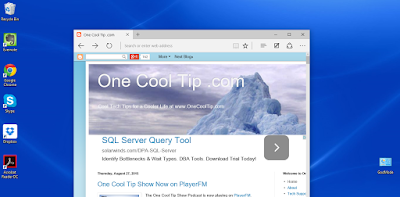 One Cool Tip desktop - www.onecooltip.com