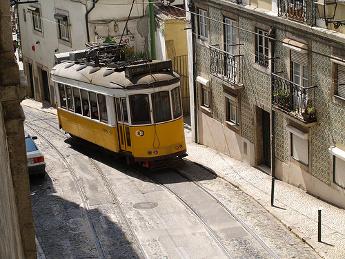 Recorrido tranvía 28 de Lisboa