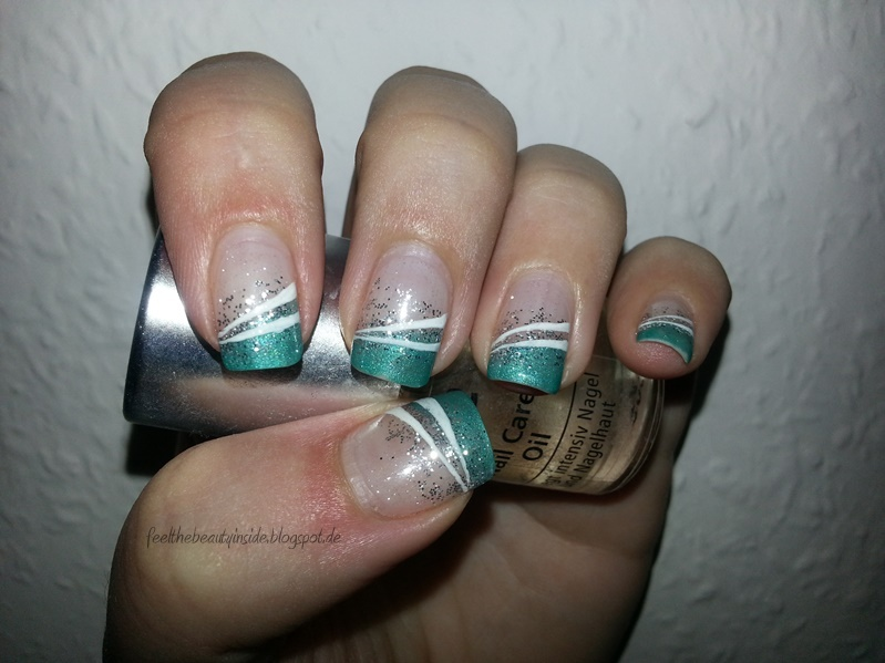 Nageldesign by German Dream Nails  - nageldesign türkis
