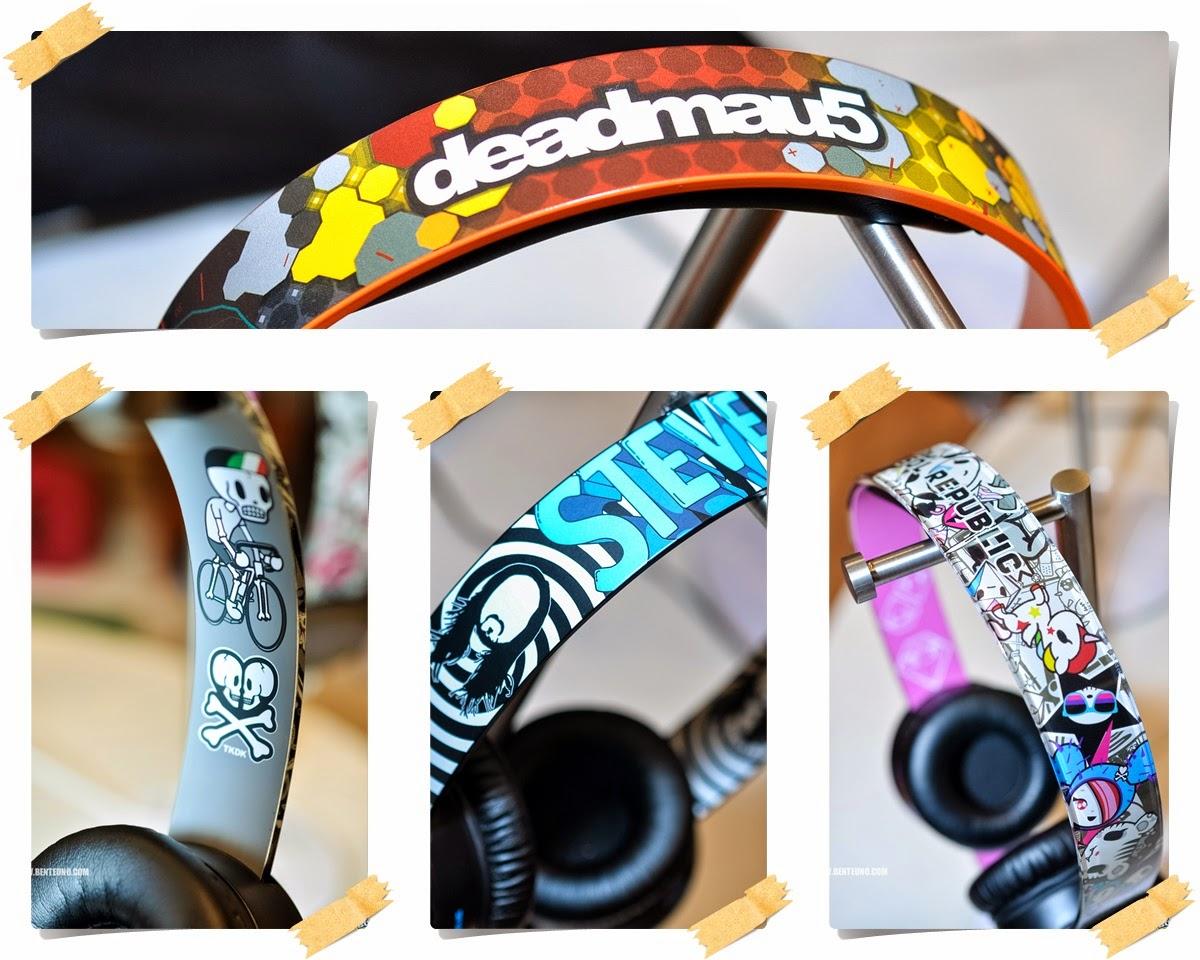 Sol Republic Tracks HD headphones Steve Aoki, Deadmau5, Toki Doki