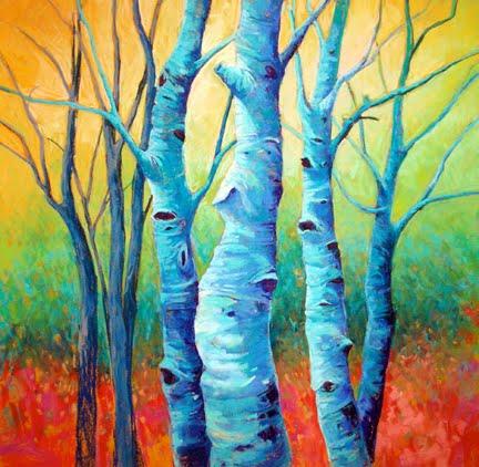 karen watson art primary colors