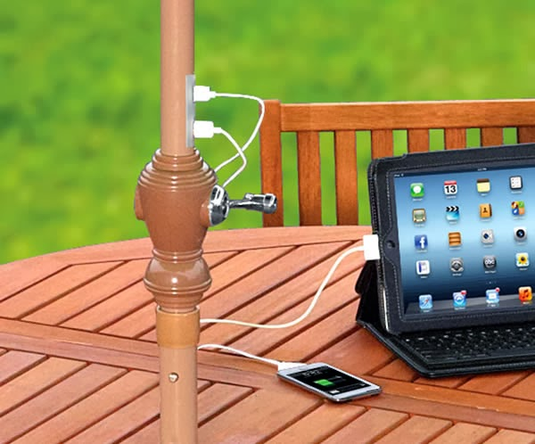 Umbrella Charger for Smartphones and Tablets