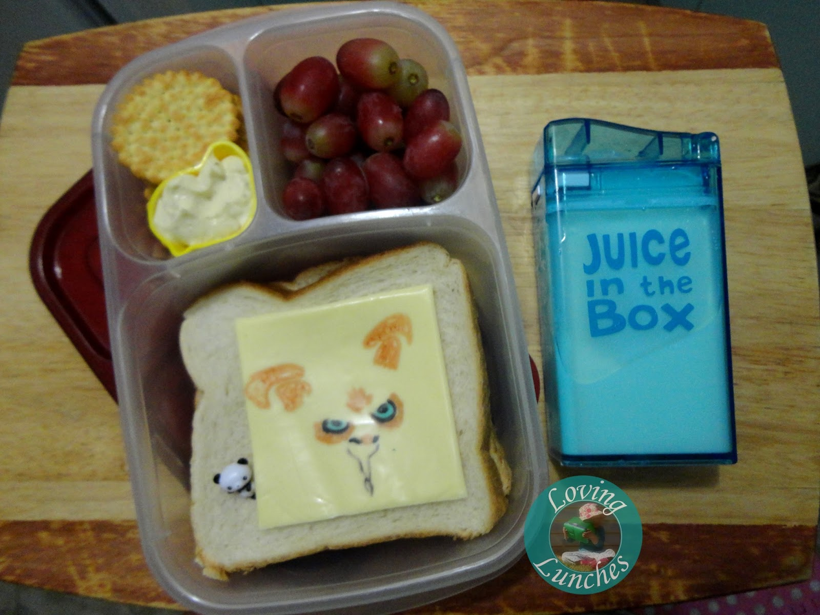 Loving Lunches: Kung Fu Panda Lunches of Awesomeness Fung