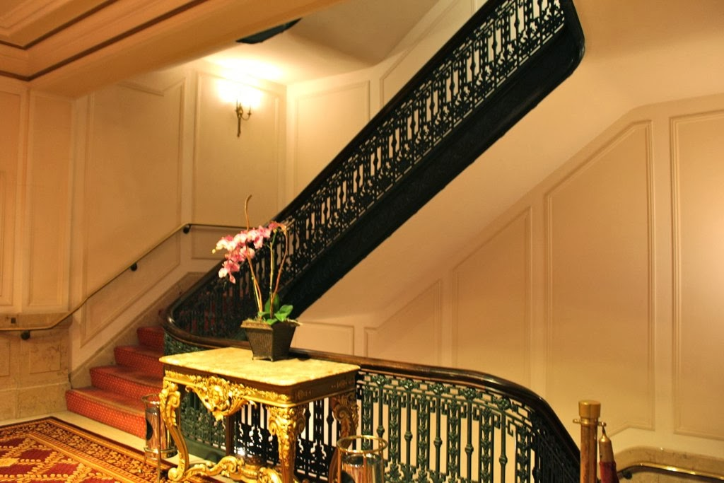 Staircase at Palace Hotel San Francisco