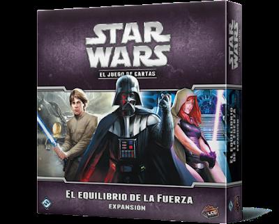 Expansión Star Wars LCG: El equilibrio de la Fuerza