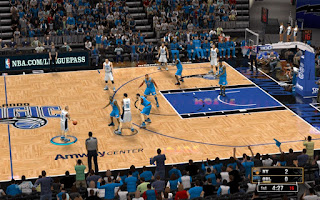 NBA 2K13 Orlando Magic Court Patch Amway Center Mod