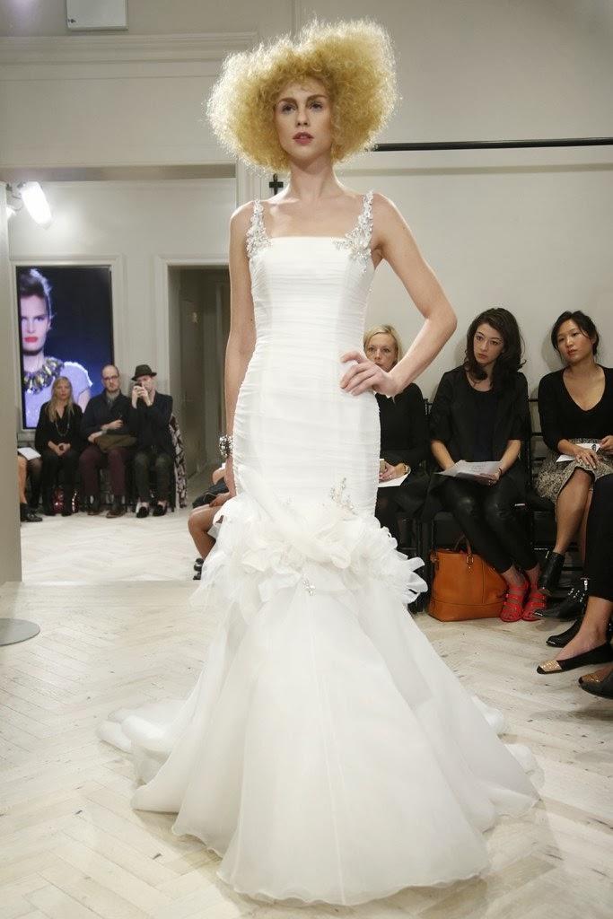 Badgley Mischka Fall 2014 Bridal Collection