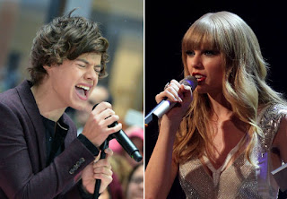One Direction's Harry Styles isn't worried that Taylor Swift may write a song about him