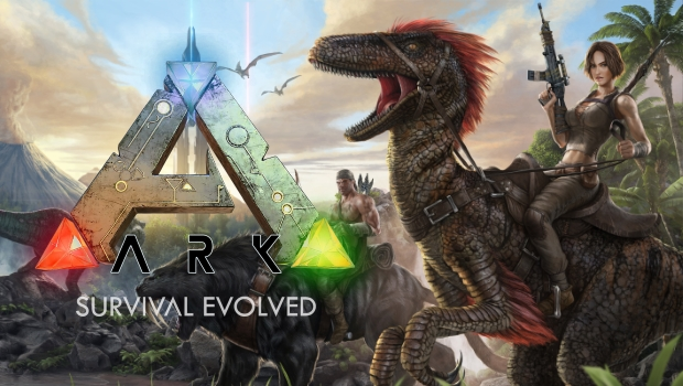 Logo do jogo ARK: Survival Evolved