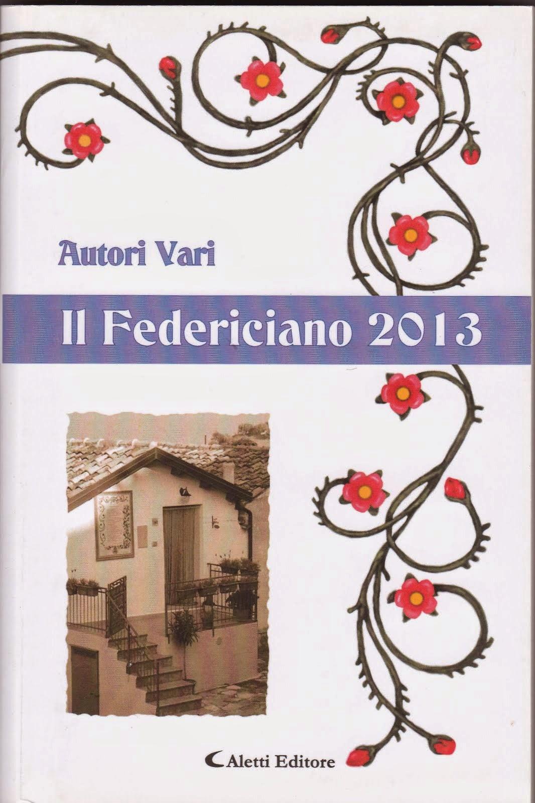 """Concorso""""Il Federiciano- 2013-"""" libro indaco- dal paese della poesia"""