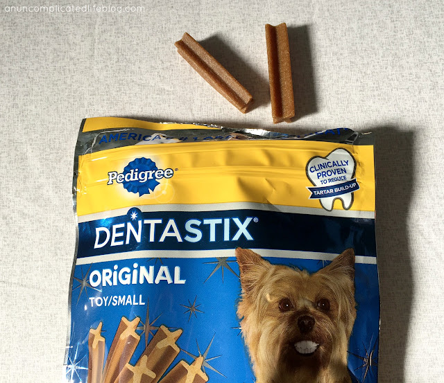 PEDIGREE® DENTASTIX® are great for your dogs teeth! #LaterShelter #ad