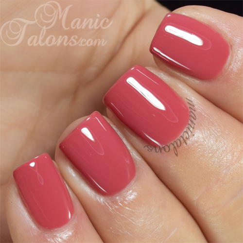 Pink Gellac Coral Red Swatch
