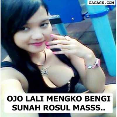 DP BBM Malam Jum'at Sunah Rosul