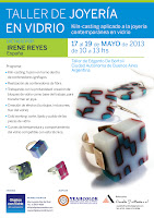 Taller de Joyera en Vidrio en Mayo