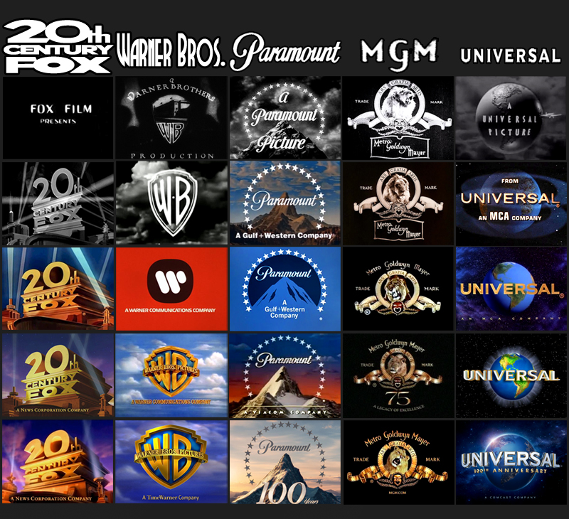 Mr Movie Movie Studio Logos