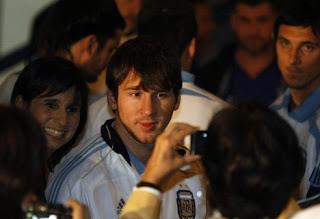 Messi siente que los Argentinos están con el
