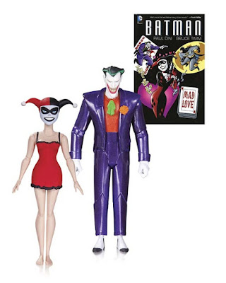 Batman: The Animated Series 2nd Edition Mad Love Action Figure 2 Pack - The Joker & Harley Quinn