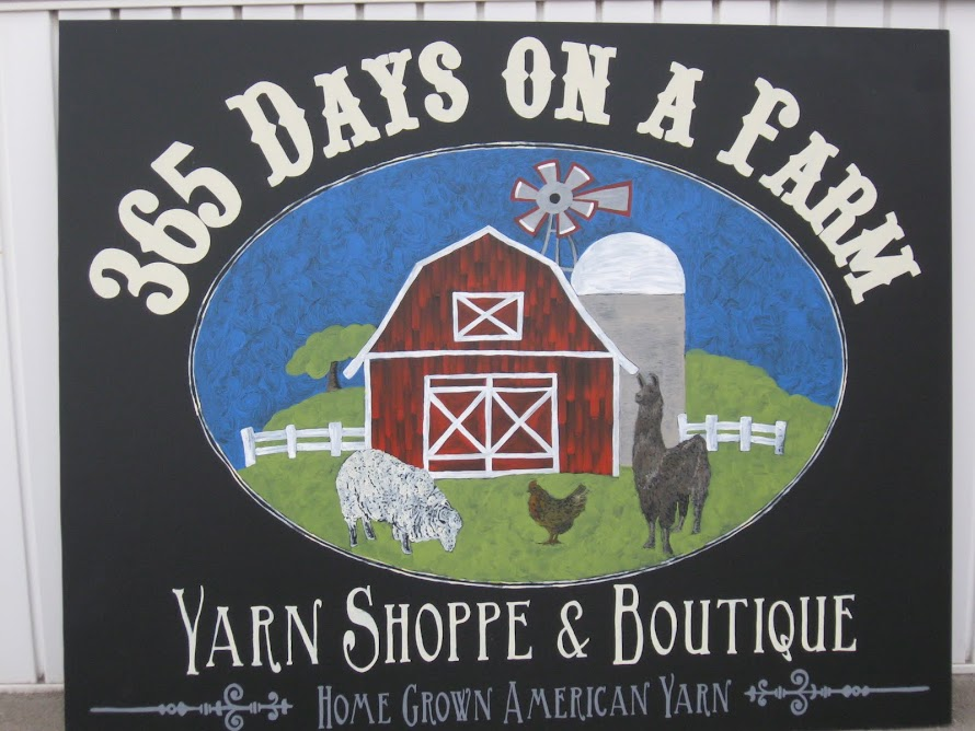 365 Days On A Farm - Yarn Shoppe &amp; Boutique