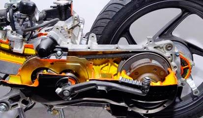 Komponen Motor Matic