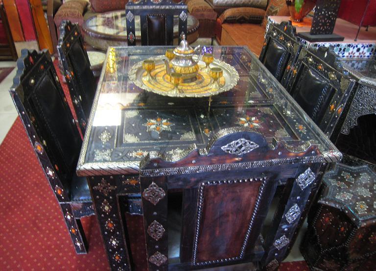 d coration maroc une table pour salle a manger marocaine for salle a manger kitea maroc