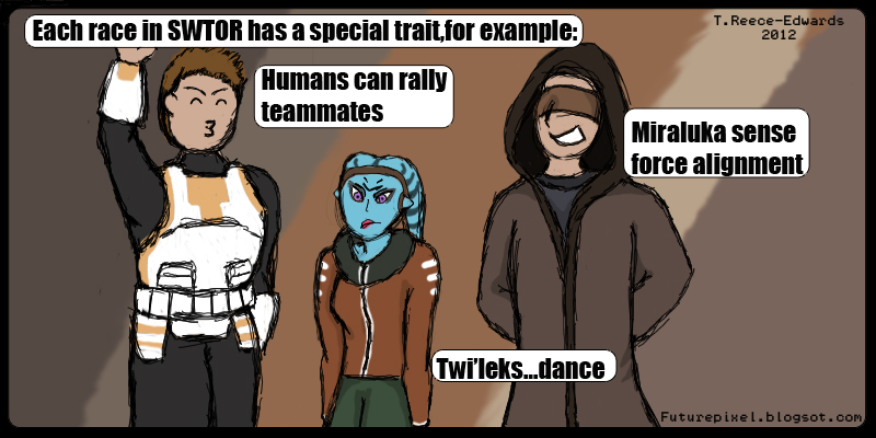funny, comic, Star Wars The old Republic, pixels