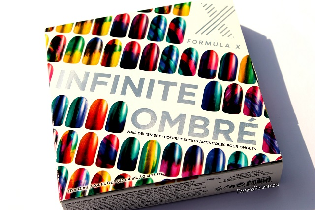Fashion polish sephora x infinite ombre set review and abstract it consists of 5 nail polishes one full size silver foil platinum prime and four mini tints limitless lemon boundless berry infinite indigo and prinsesfo Images
