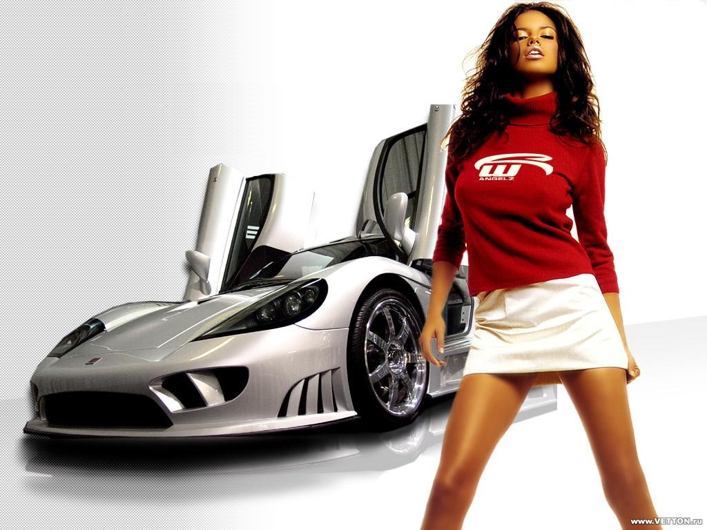 Girls And Sports Cars Wallpapers