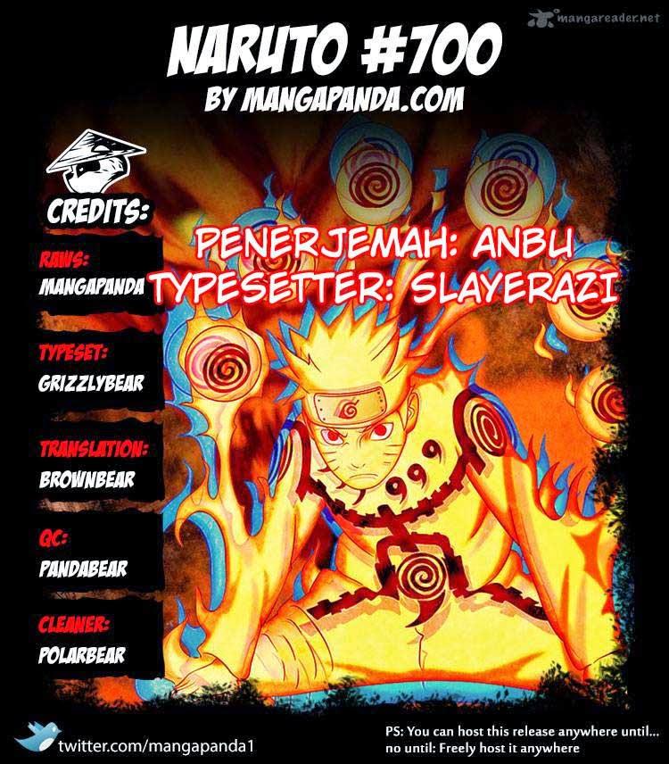 Naruto Manga - Chapter:700 - Page:01