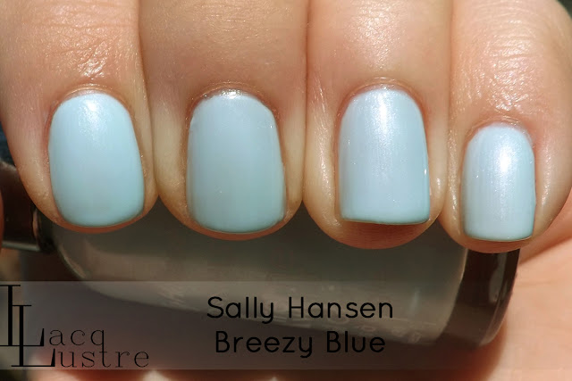 Sally Hansen Breezy Blue swatch