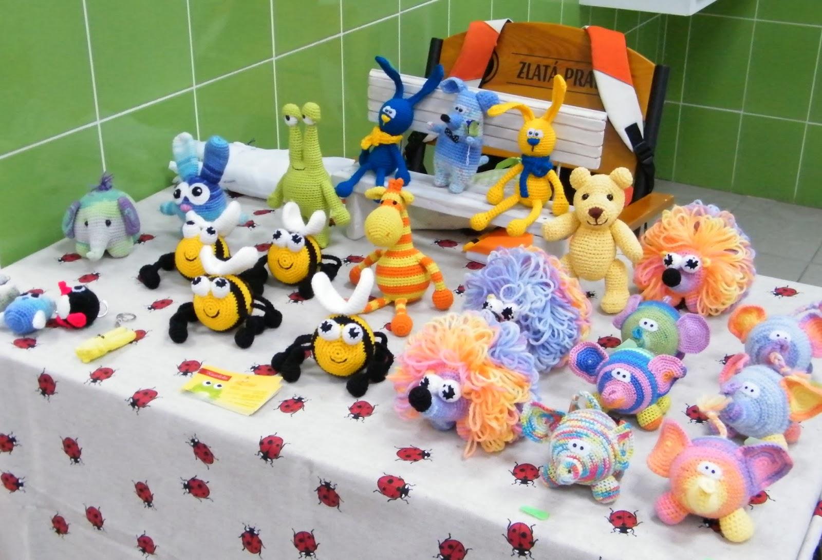 вязаные игрушки Елены Катеров
