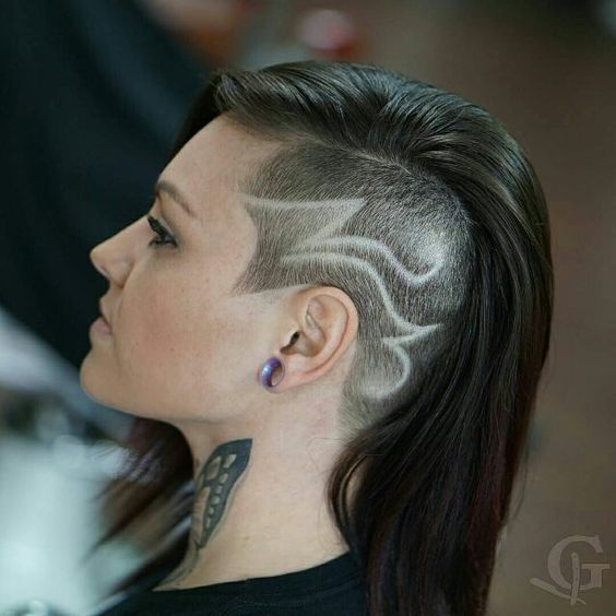 super trendy hair tattoos