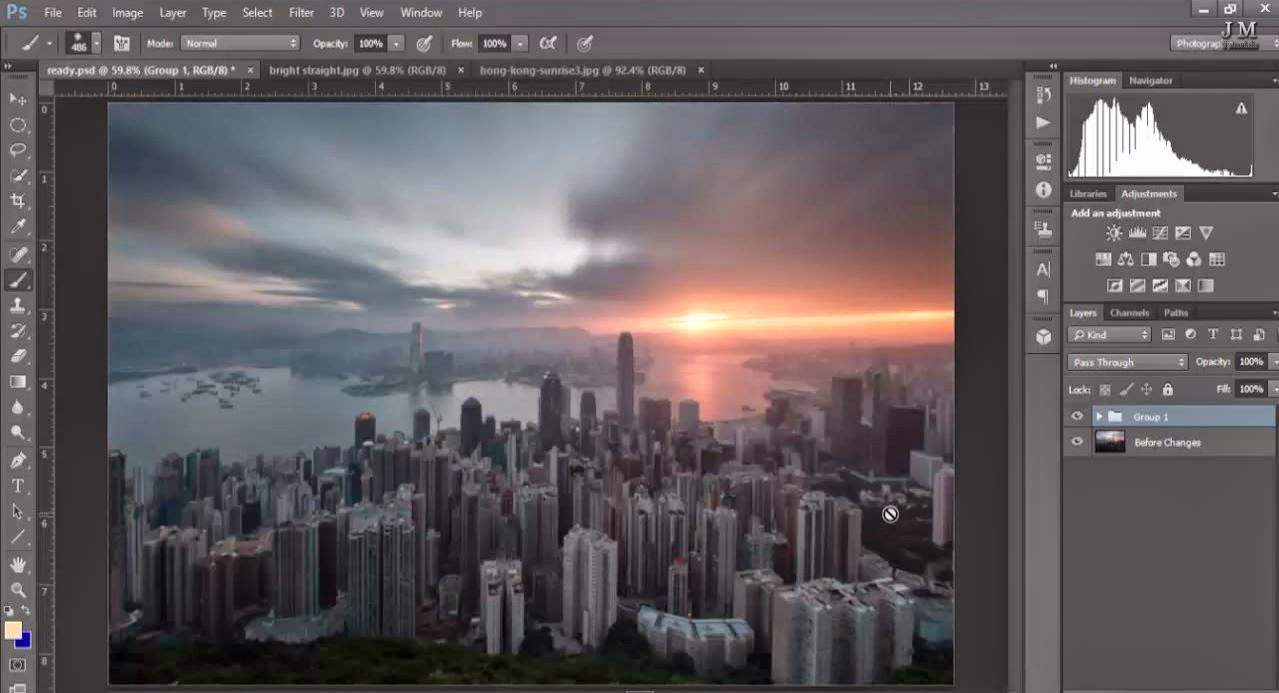 Create a Realistic Fake Long Exposure Effect in Photoshop
